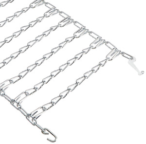 tractor tire chains for 20 in. x 8 in. wheels (set of 2) | lawn snow arnold rear