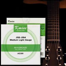 Acoustic Guitar String Phosphor Bronze Medium Light Gauge 0.012-0.054 inch AG300