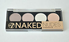 W7 in The Buff Natural Nudes Eye Shadow Colour Palette 12pcs