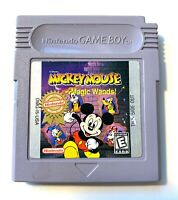 Disney Mickey Mouse Magic Wands Nintendo GameBoy Tested + Working & Authentic!
