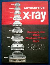 Prospekt brochure 1958 Rambler Ambassador (USA)