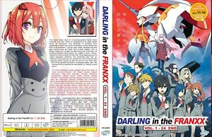 DARLING in the FRANXX (VOL.1 - 24 End) ~ All Region ~ Brand New ~English Version