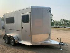 Frontier Strider 2 Horse Slant Load Trailer with Tack Room