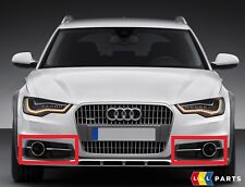 GENUINE AUDI A6 ALLROAD 13-17 FRONT BUMPER LOWER RIGHT LEFT AIR GUIDE GRILL SET
