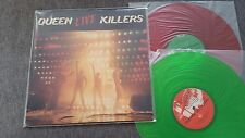 Queen/ Freddie Mercury - Live killers 2 x LP RED & GREEN COLOURED VINYL JAPAN
