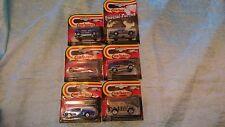 Majorette Series 200, Set of 6 Lamborghini, Land Rover, Jeep, A. Martin, Chevy