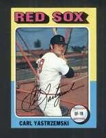 1975 Topps #280 Carl Yastrzemski NM/NM+ Red Sox 114675