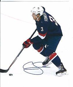 Cam Fowler Signed USA 2014 Olympics Sochi 8x10 Photo DUCKS