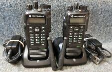 Motorola Xpr6550 Uhf Digital Dmr Mototrbo Set Of 2 Radios 430 470 Refurbished