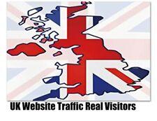 10,000  UK visitors to your website . website traffic.