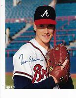 Tom Glavne Atlanta Braves Autographed 8X10 Photo
