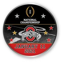 2021 CFP OHIO STATE PARTICIPANT PIN COLLEGE NATIONAL CHAMPIONSHIP TITLE GAME