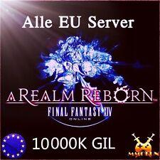 FFXIV GIL 10.000.000 FINAL FANTASY XIV 10000K /FF 14 10M GIL Gold Alle EU Server