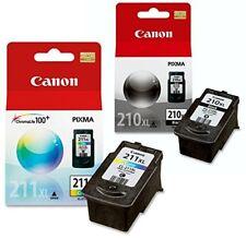 NIB Canon PG 210 XL Black CL 211 XL Multicolor ink cartridges