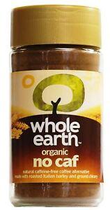 Whole Earth Organic No Caf - 100g