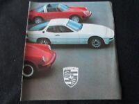 1979 Porsche 911 SC Coupe Targa 930 Turbo 928 Brochure 924 911SC Sales Catalog