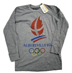 Olympic Museum Collection Albertville 1992 Olympic Games Shirt New S, M,XL