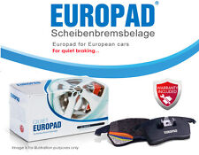 Peugeot 407 2.0, 2.7d, 3.0 Coupe 2005 - 2008 Front Disc Brake Pads Europad