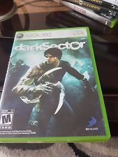 Dark Sector (Microsoft Xbox 360, 2008) free shipping Canada