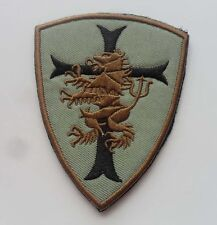 Navy seal team 6 Devgru Lion cross crusader shield US Tactical SWAT   Patch
