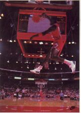 Vintage 1989 Wheaties Michael Jordan NBA Fold Out Poster 23X16 A20
