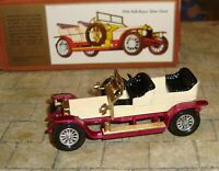 MATCHBOX - MODELS OF YESTERYEAR - 1906 SILVER GHOST CAR - Y-10 - BOXED