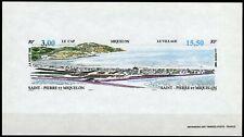 Saint-Pierre et Miquelon Epreuve Luxe Gommée 1996 Yv 640A Vue générale Miquelon