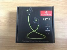 Soundpeats QY7 inalámbrico con Bluetooth 4.1 Deportes Auriculares Amarillo/Blanco Nuevo y Sellado