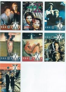 X Fichiers Saison 1 Ensemble De 7 Promotionnel / Promo Cartes, P0-P6