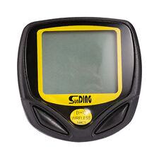 Wireless LCD Bike Computer Meter Odometer Speedometer Cycle Bicycle