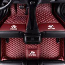 for Hyundai Sonata  luxury custom waterproof floor mats 2006-2018