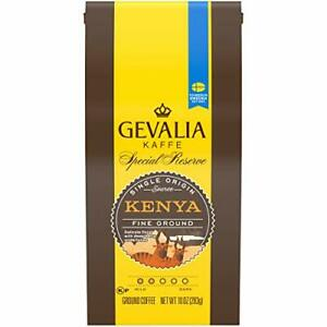 Gevalia Special Reserve Kenya Mild Roast Fine Ground 10 Ounce (Pack of 1)