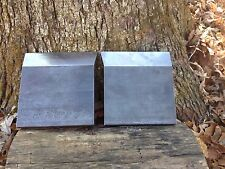 "LOG SPLITTER WEDGE WINGS 6"" WELDABLE SET Sharp On Both Sides 3/4"" THICK  A36!!!!"