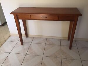 Solid Timber Hallway Table Stand