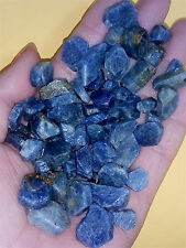 1000g Natural Unheated Blue Sapphire Corundum Facet Rough Specimen