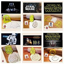 R2d2 Chewbacca Darth Vader Storm Trooper Bb8 Rebel Cake Decorating Cookie Cutter