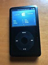 Apple iPod Classic 6th Gen 128 GB SSD Memory, Modified, Black