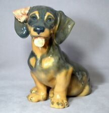 New ListingRoyal Copenhagen #856 Large Dachshund Sitting – Discontinued 2008 - 11.5 inches