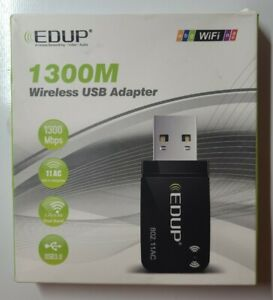 1300 Mbps Wireless USB 3.0 Dual Band Adapter Built-in Dual Antenna With Driver