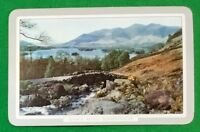 Playing Cards 1 Single Swap Card Vintage ENGLISH Nmd ASHNESS BRIDGE DERWENTWATER