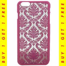Élégant Henna Design 3D Fleur Rose Case pour iPhone 6 S Plus-Achetez 1 obtenez 1...