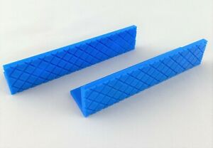 """4"""" Universal Drill Press Vise Pads / Magnetic Soft Jaws"""