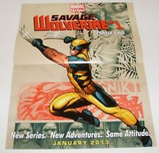 Poster - Savage Wolverine #1/Wolverine and the X-Men #25 - VF - SALE!!!