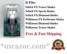 *Schick FX Diamond  Razor 2 blades Cartridges Shaver Handle fit Tracer Performer