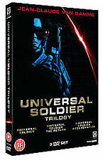 Universal Soldier Trilogy (DVD, 2010, 3-Disc Set)