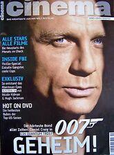 JAMES BOND + 007 + CINEMA + 11/2008 + DANIEL CRAIG + EIN QUANTUM TROST +
