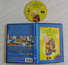RARE DVD PAL DESSIN ANIME CAILLOU S'AMUSE 12 EPISODES 60 MINUTES ZONE 2