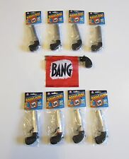 8 NEW BANG GUN PISTOLS WITH FLAG COMEDY PROP GUNS GAG GIFT MAGIC TRICK
