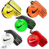 Personalised Football And Boot Bag | Customised Soccer Ball | FOOTY MAD | NIKE