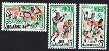 Niger 1962 Set of Stamps MI#25-27 MNH